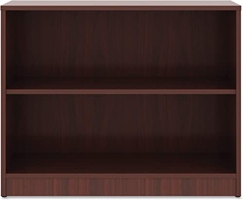 Cheap Lorell Mahogany Laminate Bookcase Book Rack modern bookcase for sale