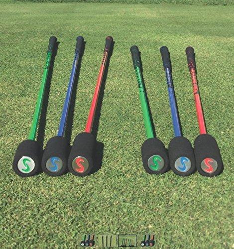 Superspeed Golf Junior AllStar (Ages 8-11) Training System 3 Piece Club Set Super speed by Superspeed Golf (Image #1)