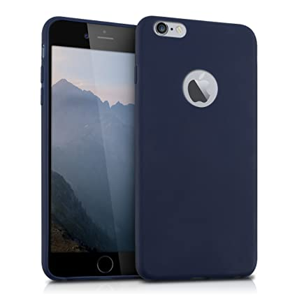 kwmobile Apple iPhone 6 Plus 6S Plus Hülle Handyhülle für Apple iPhone 6 Plus 6S Plus Handy Case in Dunkelblau matt