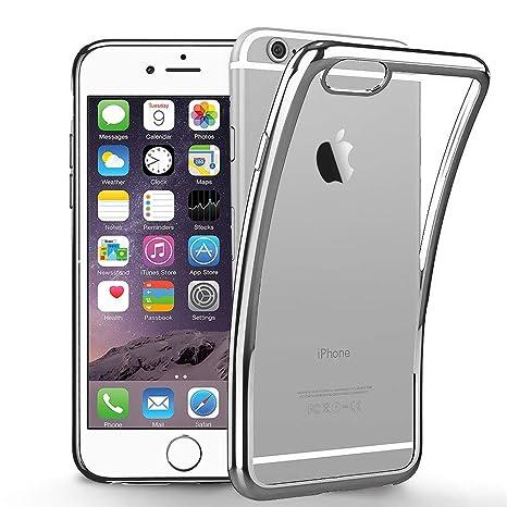 e23e3d5ae4d innislink Funda iPhone 6, Funda iPhone 6s, Cover iPhone 6 Silicona Case TPU  Bumper