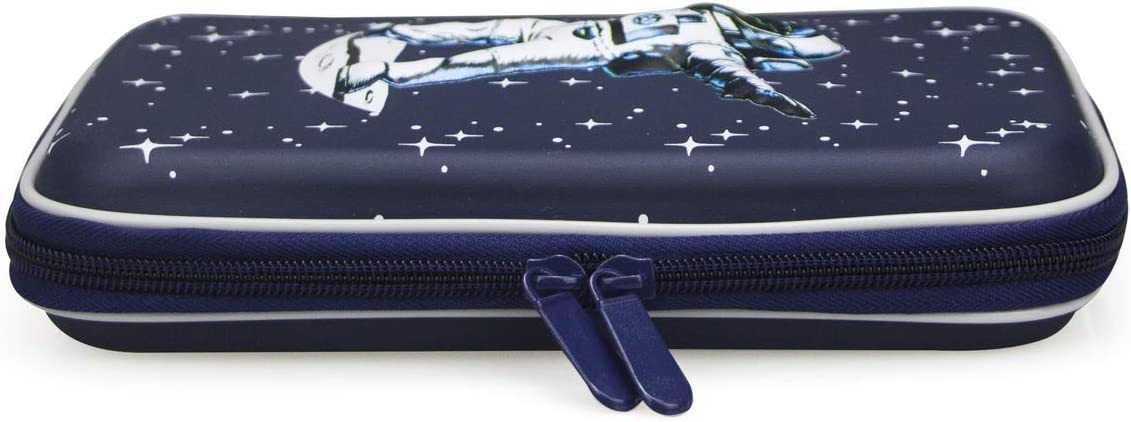 Lime /& Lane Space Galaxy Dabbing Spaceman Pencil Case Pen Pouch Organizer with Astronaut and Star Design