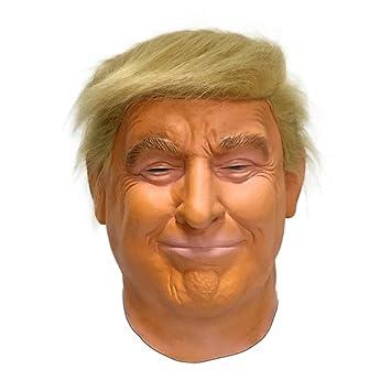 coupon de réduction vente à bas prix la réputation d'abord Hengyutoy Mask Donald Trump Masque Halloween De Luxe USA Homme Politique  Déguisement Masques
