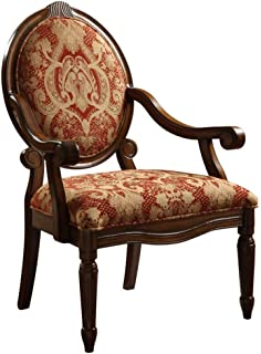 Nice Madison Park KF93024 ROYAL BURGUNDY Brentwood Accent Chair