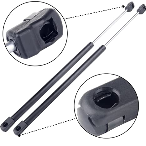 Amazon Com Eccpp 2pcs Rear Window Glass Lift Supports Struts Shocks