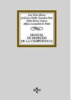 Manual de derecho de la competencia / Manual of Competition Law (Spanish Edition)