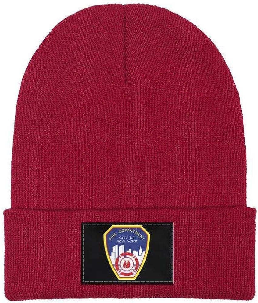 DXQIANG Fire-Department-City-of-New-York Men Women Knit Beanies Hat Multifunction Skull Knit Cap