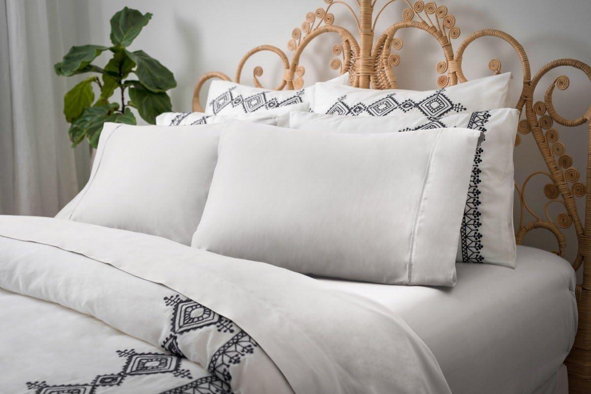 Magnolia ORGANICS Dream Collection Sheet Set - Queen, White