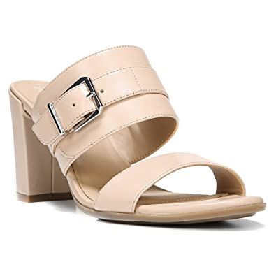 955b4b9f61bf Naturalizer Women s Zephar Taupe Leather Sandal 6 W ...
