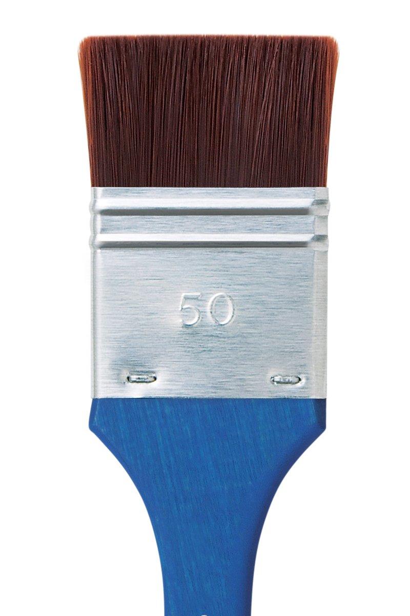 Size 50 da Vinci Student Series 5074 Forte Basic Paint Brush Mottler Elastic Synthetic with Blue Matte Handle