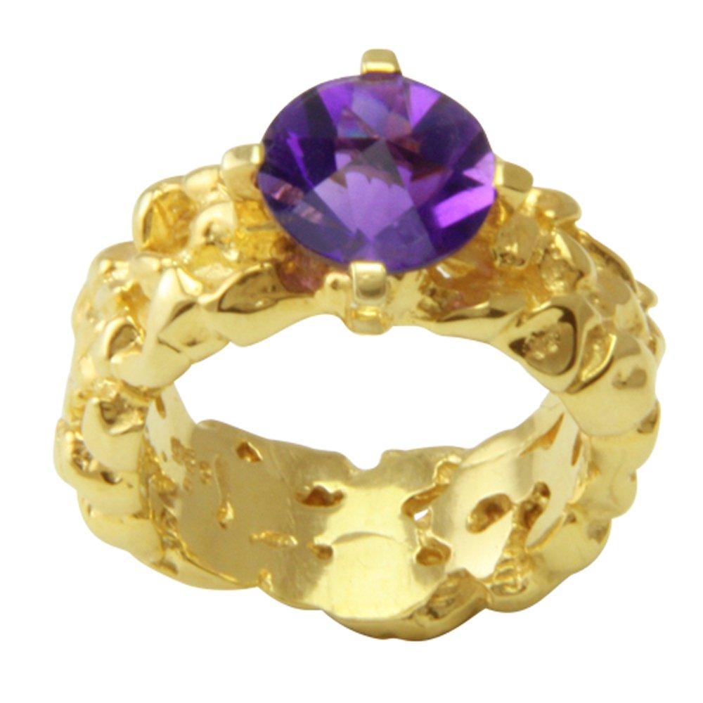 7212e68f9241 Esquí Elka - Juego de diseño JOYAS amatista anillo oro oro herrero trabajo  (585) Oro Amarillo - oro anillo con amatista Spirit Sun - Amatista anillo  con ...