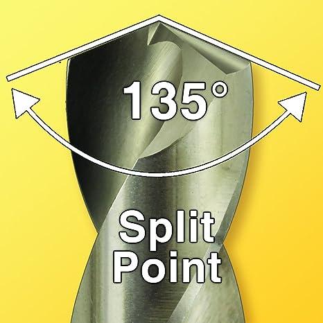 M2 High-Speed Steel IVY Classic 46508 1//8-Inch x 12-Inch Aircraft Drill Bit 135-Degree Split Point 1//Card
