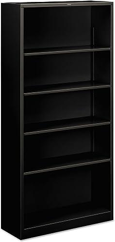 HON Brigade 5-Shelf Steel Bookcase
