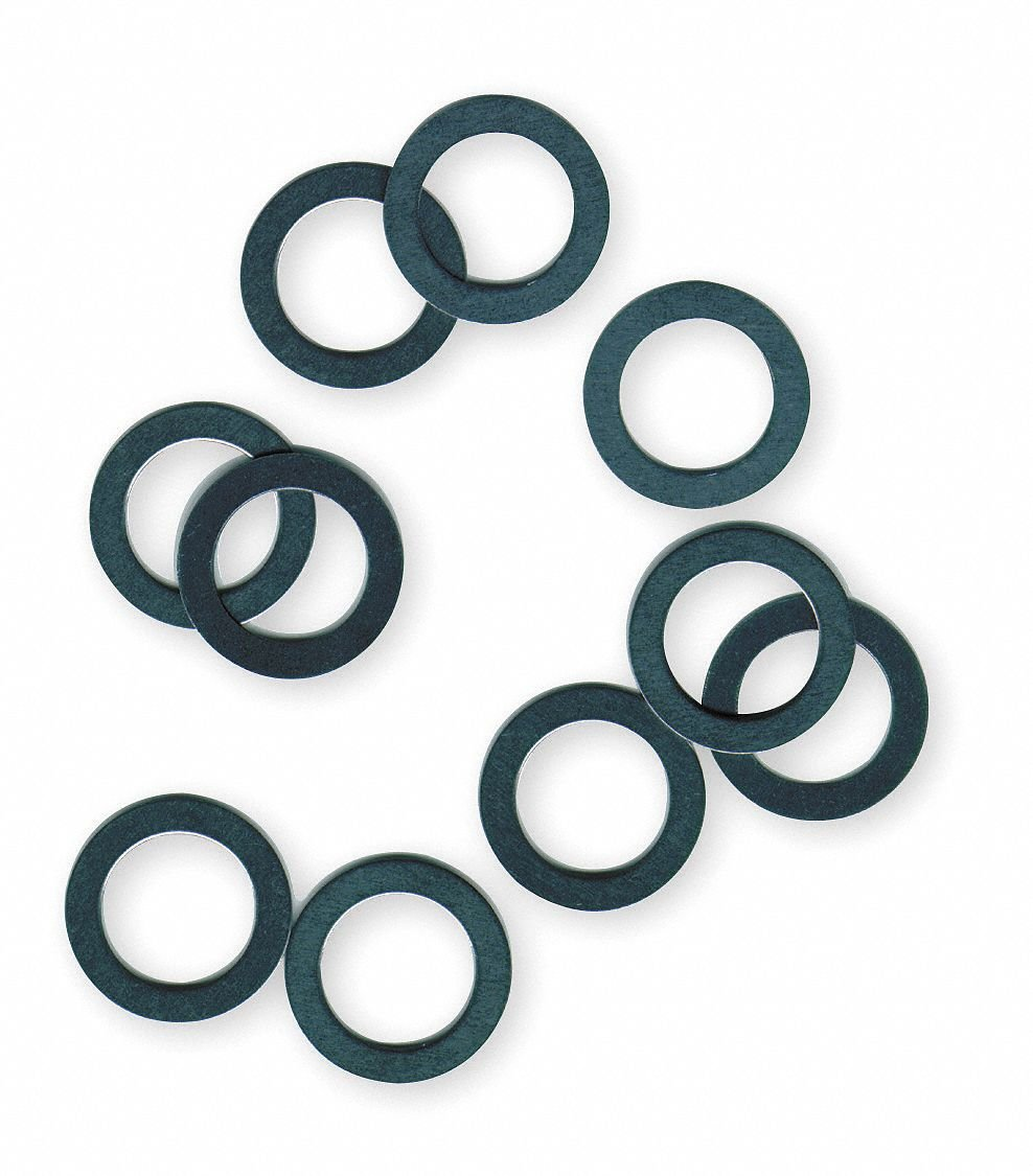 Steel Arbor Shim Assortment, 1.625'' OD, Pieces: 19 - pack of 5 by Precision Brand