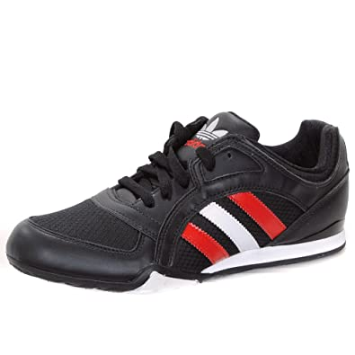 dd3cf355fddf5 Adidas Originals ZX 90 s Racing NT Trainers - Black 7.5 UK  Amazon ...