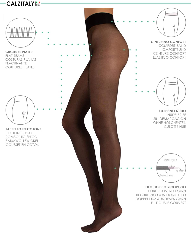 XL One Size /& Plus Size Plain Top Sheer StockingsColoured Stockings Sml