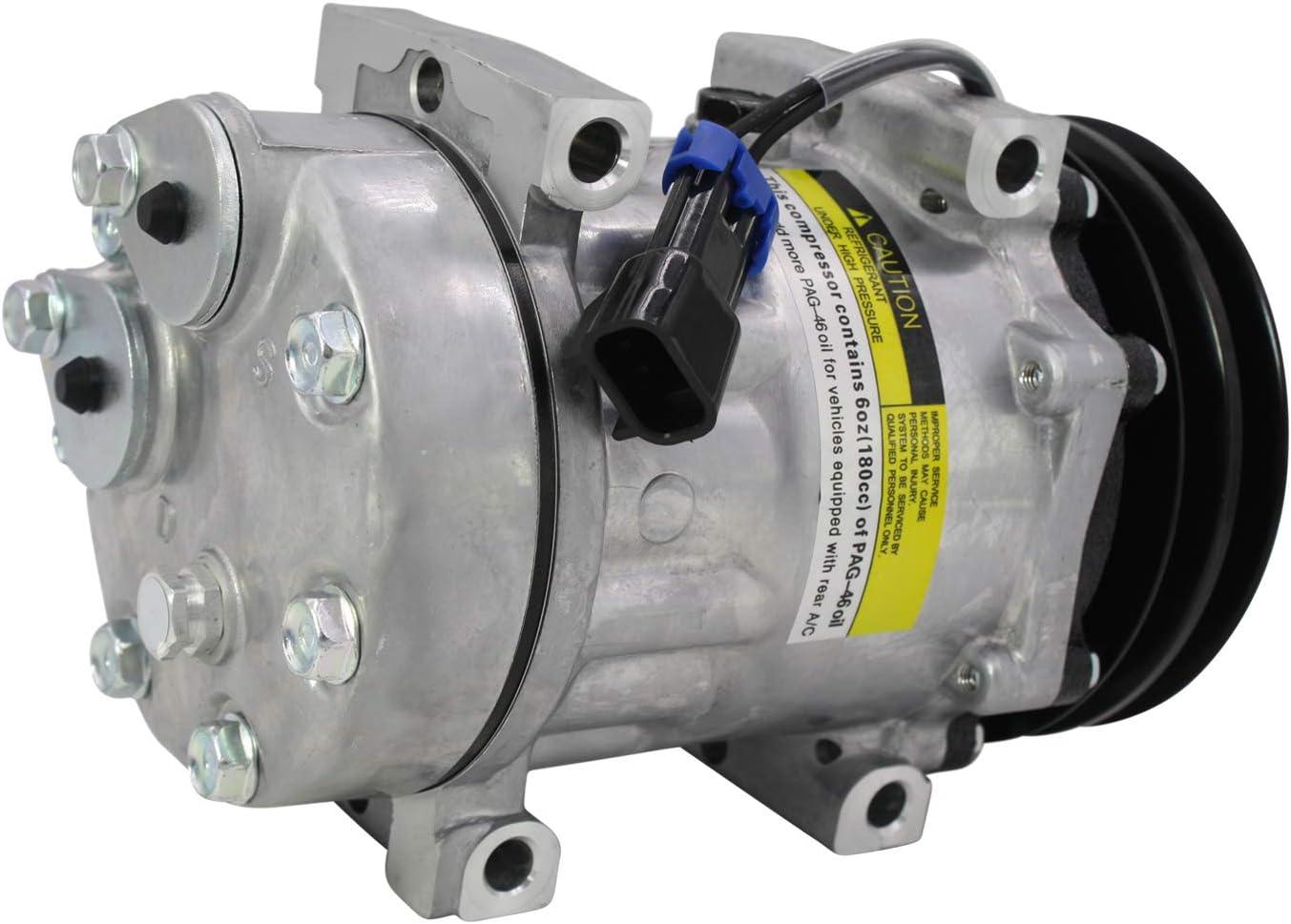 Volvo Sanden Type 4778 4715 4890 AC Compressor SDH715