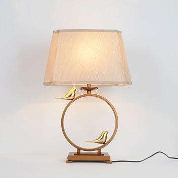 lámpara de Mesa Modern Minimalista Dormitorio Lámpara de ...