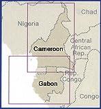 Cameroon, Gabon, Equatorial Guinea 1:1,300,000 Travel Map, waterproof, REISE