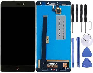 YIHUI Repare Repuestos ZTE Nubia N1 / NX541J Pantalla LCD y ensamblaje Completo del digitalizador (Negro) Partes de refacción (Color : Black): Amazon.es: Electrónica