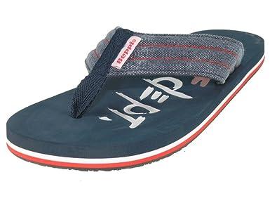 Beppi - Sandales En Tissu Pour Les Hommes, Bleu, Taille 40