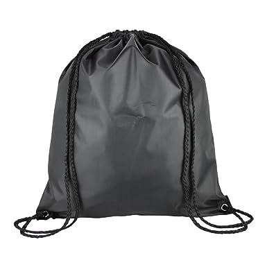 1 Kids Nylon Drawstring Rucksack / Backpack - School, Gym, Swim ...