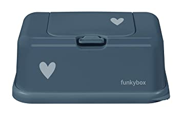 Funkybox Baby Wipes Dispenser Mint - Leaves