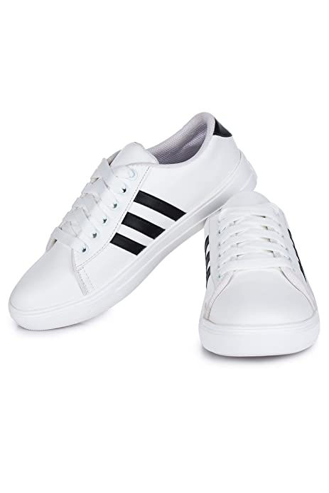 d043c6a9fddc2 DIOS Women Sneaker Shoes Color- White (Article-3): Buy Online at Low Prices  in India - Amazon.in