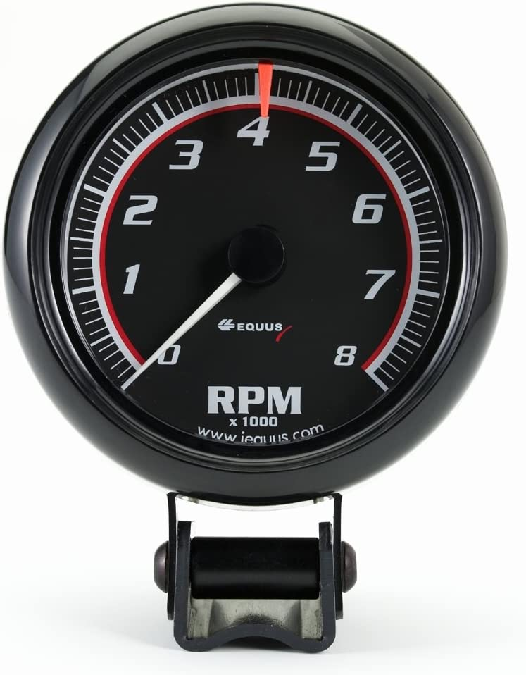 Equus 6078 3-3//8 Bezel Tachometer Chrome INNOVA