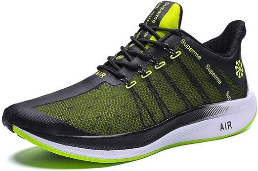 Zapatos de Running de los hombres, volando zapatos de deportes ...