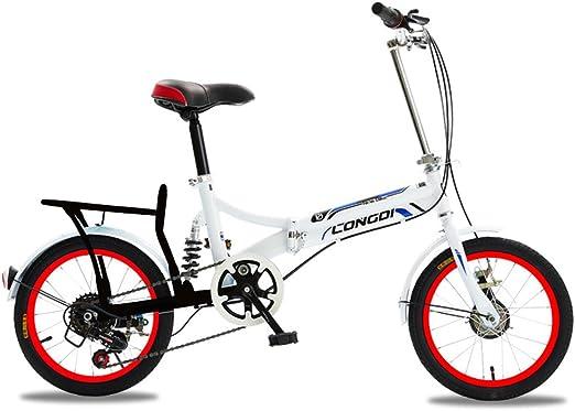 XQ 1615URE Bicicleta Plegable de 16 Pulgadas Adultos Bicicleta ...