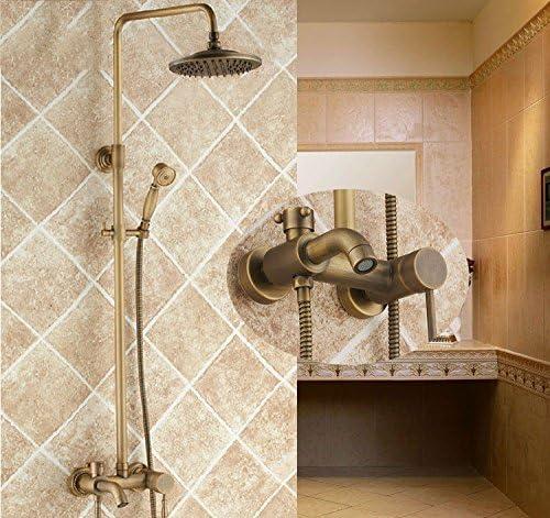 KaO0YaN-Shower Europeo Antiguo Manual Conjunto De Ducha Cobre Baño ...