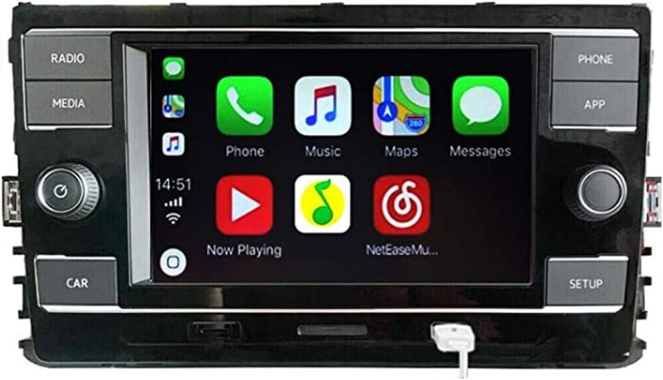 Scumaxcon 6 5 Autoradio Mib 280c Carplay Mirrorlink Bluetooth Für Volkswagen Lamando Golf Mk7 Passat B8