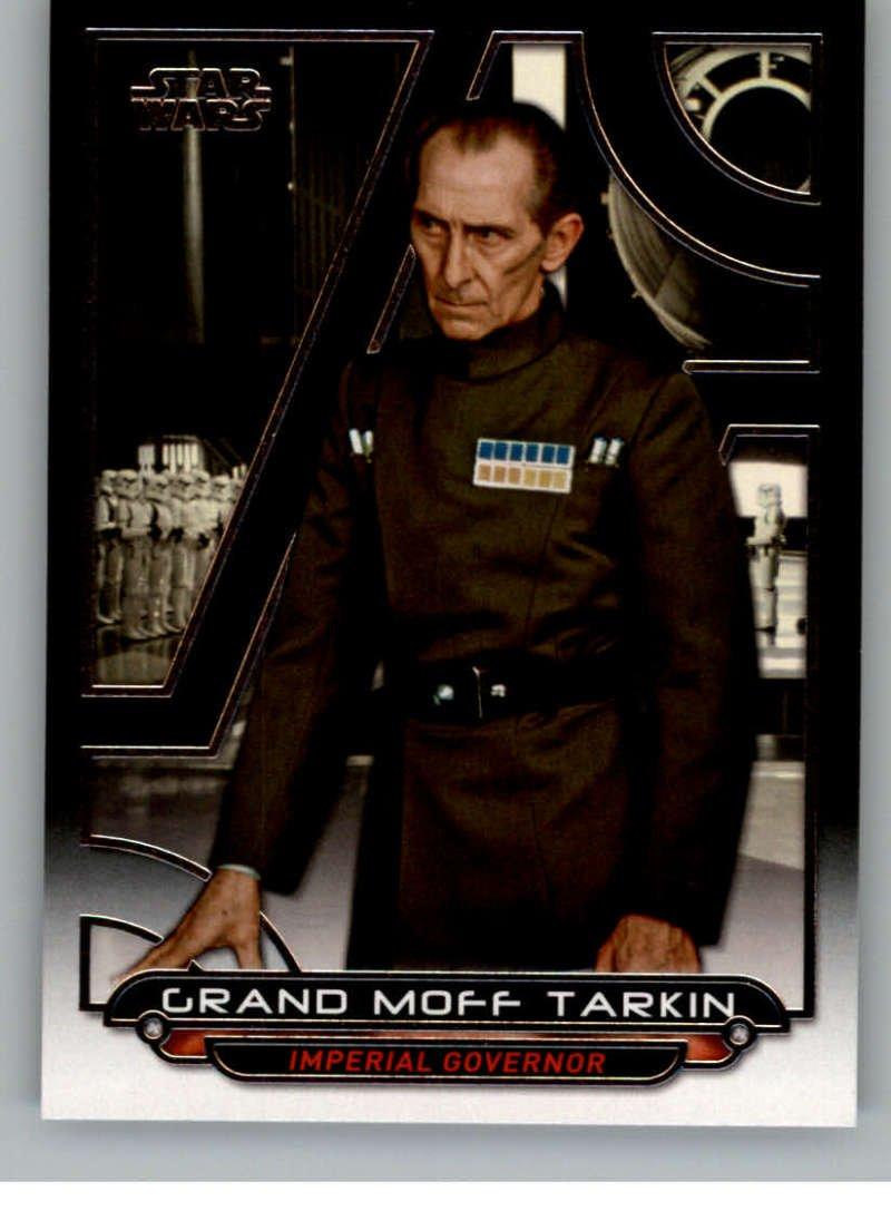 2017 Topps Star Wars Galactic Files Reborn #ANH-14 Grand Moff Tarkin