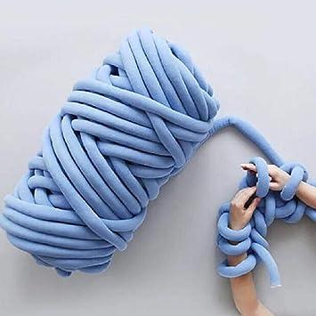 Qlvy Mehrfarbig Wolle Garn Super Soft Bulky Arm Stricken Wolle