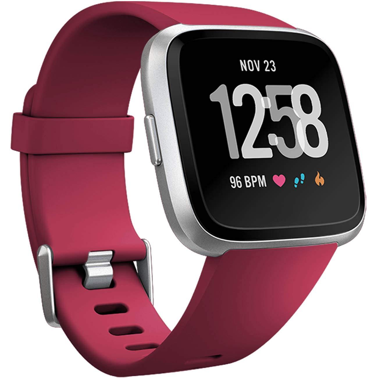 Malla Large para Fitbit Versa / Versa 2 rojo -7MK6Y5XH