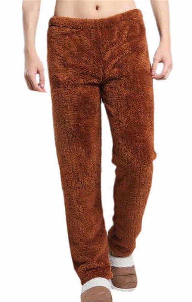 KXP Men And Women Soft Flannel Sleep Lounge Pants coffee s