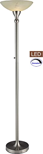 Artiva USA LED21024FSN LED Torchiere Floor Lamp