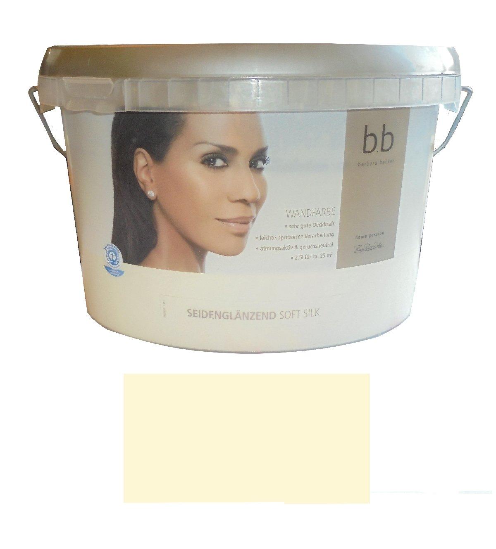 Häufig Barbara Becker 2,5 L. bunte Wandfarbe Soft Silk, Vanille GP96