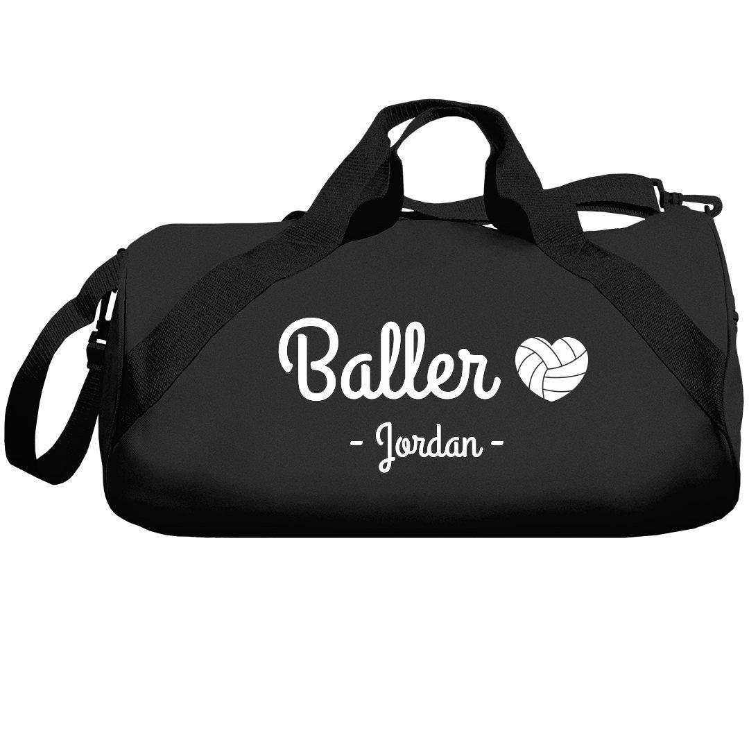 Baller Volleyball Girl Jordan Bag: Liberty Barrel Duffel Bag