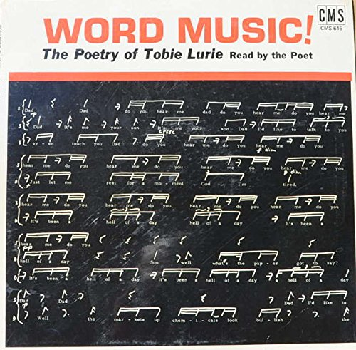 word-music-the-poetry-of-tobie-lurie-conversation-unawareness-love-fuge-variations-waltz-oh-lord-upt