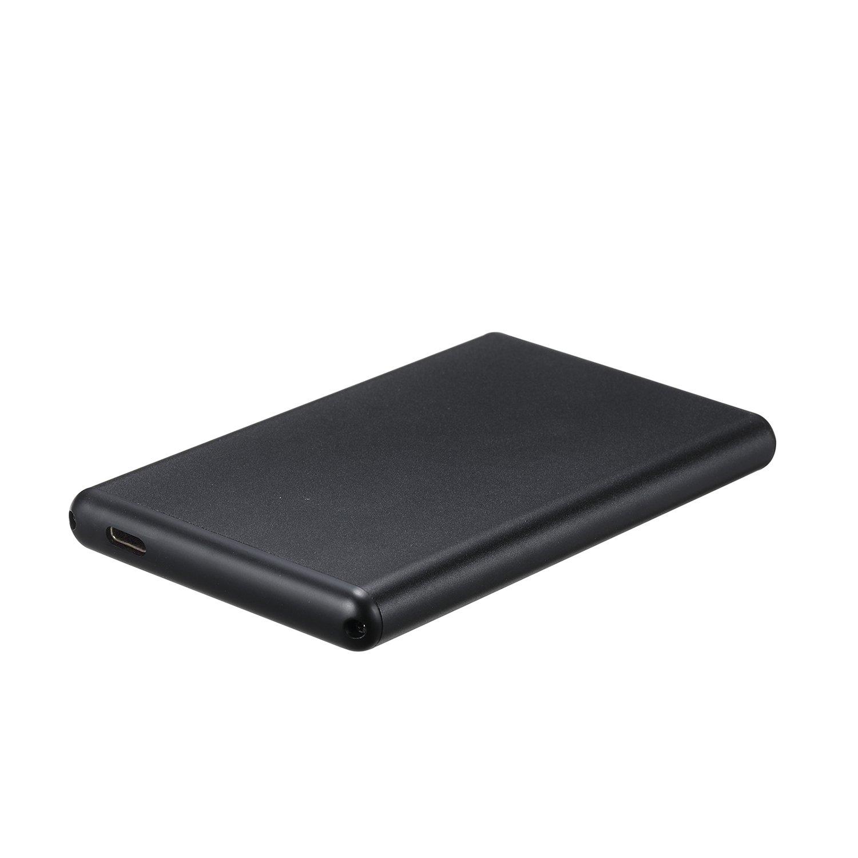 TooQ TQE-2533B - Carcasa para Disco Duro HDD DE 2.5' (SATA I/II/III, USB 3.1, USB-C) Color Negro
