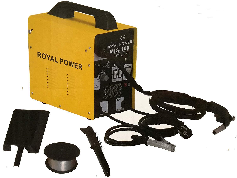 Soldador hilo continuo sin gas soldadora ventilada maquina de soldar mig 100 product image