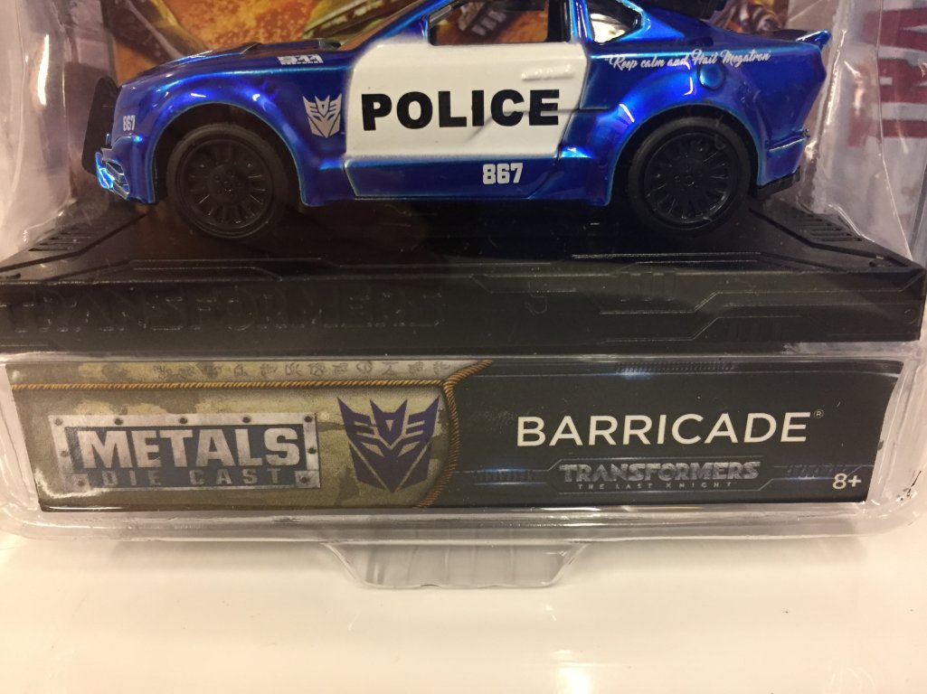 Police Car [Jada 98389], Barricade,