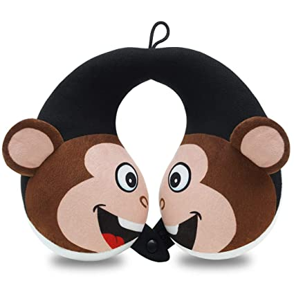 COOLBEBE Kids Neck Travel Pillow - Beautifully-Designed Travel Pillow for Kids