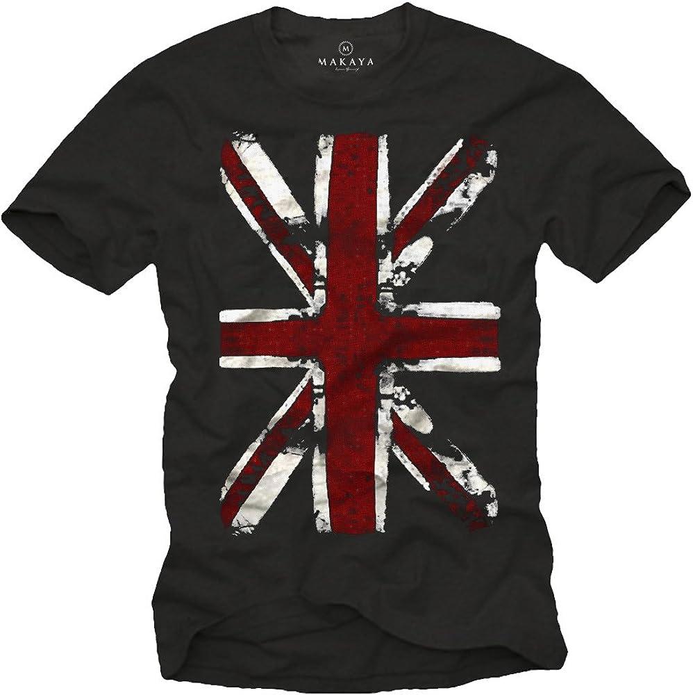 UK FLAG Union Jack VINTAGE T-SHIRT Sz.S-M-L GREAT BRITAIN ENGLAND