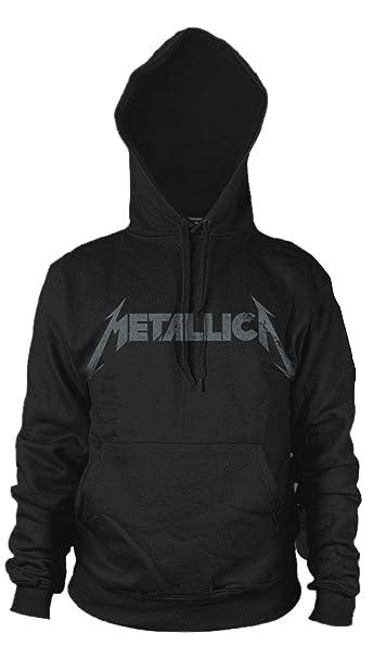 Metallica Kirk Hammett Guitar Black Album Oficial Sudaderas Capucha Hombre: Amazon.es: Ropa y accesorios