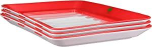 Food Plastic Preservation Tray, Healthy Creative Tray Kitchen Tools, New Healthy Seal Storage Container for Keep Food Fresh