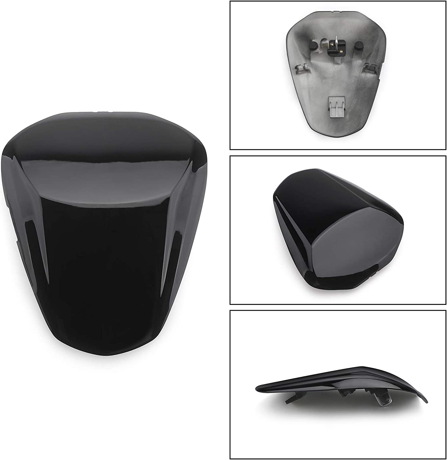 Areyourshop ABS Rear Seat Cover Cowl Fairing For Suzu-ki GSXS1000 GSXS1000F 2015-2018 Black