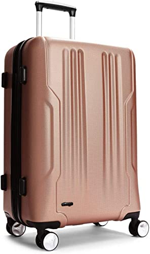 eBags Monument Checked Spinner 25 Inch Rose Gold