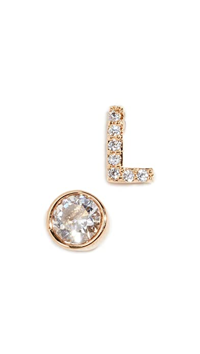 10cf05b1da37b Amazon.com  Kate Spade New York Women s One in a Million Pave Stud Earrings